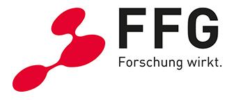 Logo Österreichische Forschungsförderungsgesellschaft mbH (FFG)