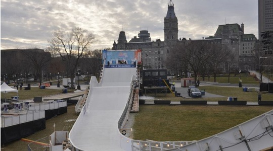 Skateway für Red Bull Crashed Ice