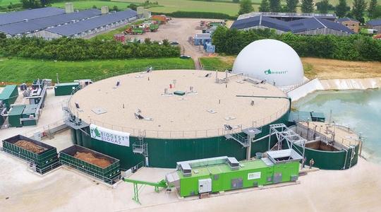 Biogest Anlage in Frogmary  (Vereinigtes Königreich)