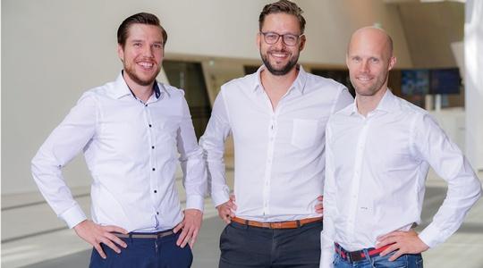 Firstbird-Founder: Daniel Winter, Arnim Wahls, Matthias Wolf