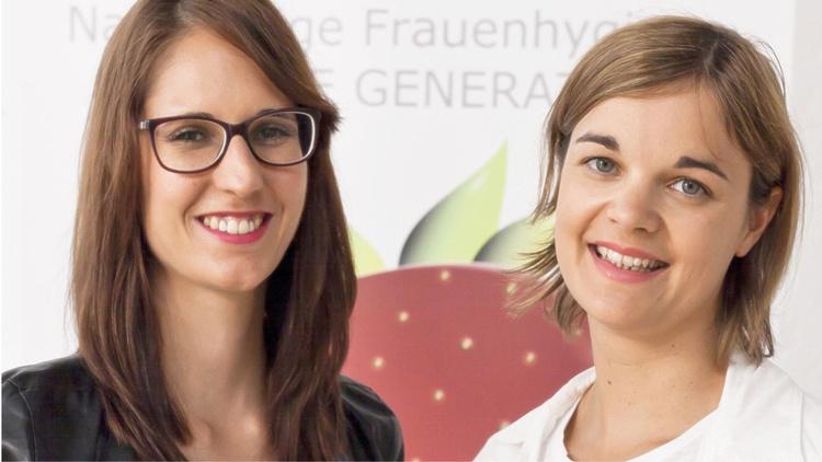 Gründerinnen Annemarie Harant und Bettina Steinbrugger