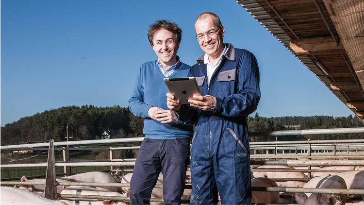 Marcus Schweinzger und Alois Temmel