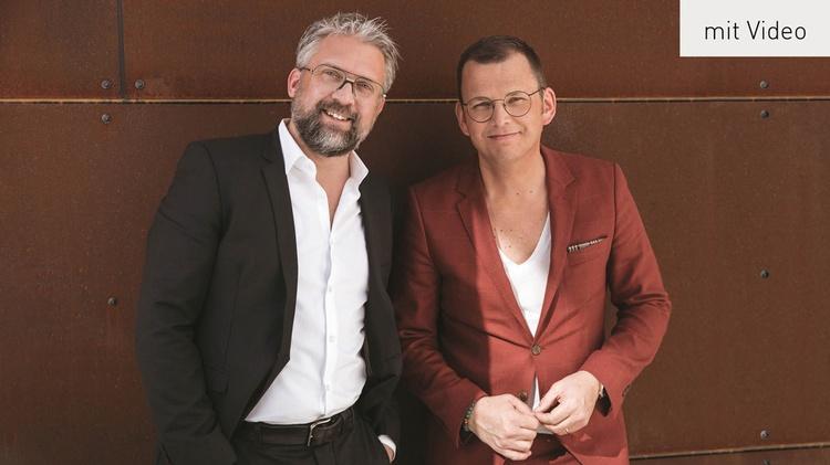 Die beiden Gründer von ANDY WOLF - Andreas Pirkheim (Andy), und Wolfgang Scheucher (Wolf)