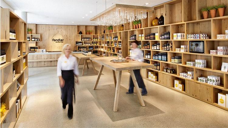 Verkaufsshop bei Ölmühle Fandler GmbH