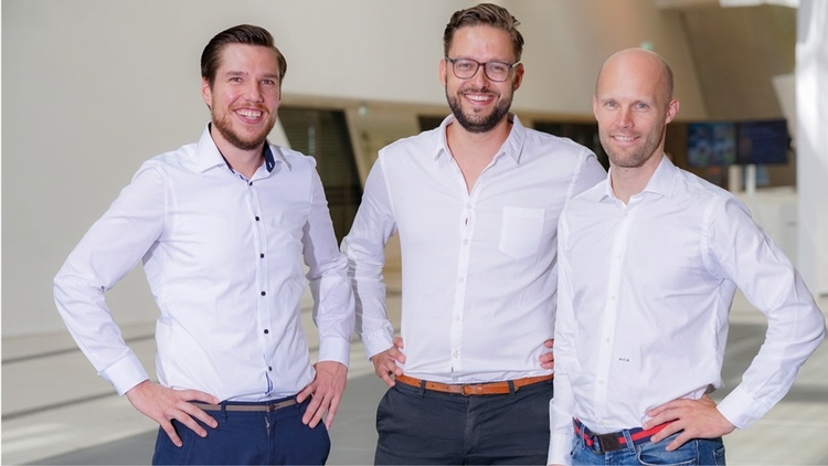 Firstbird-Founder: Daniel Winter, Arnim Wahls, Matthias Wolf
