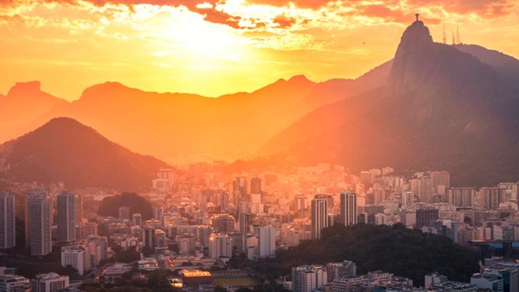 Skyline von Rio de Janeiro