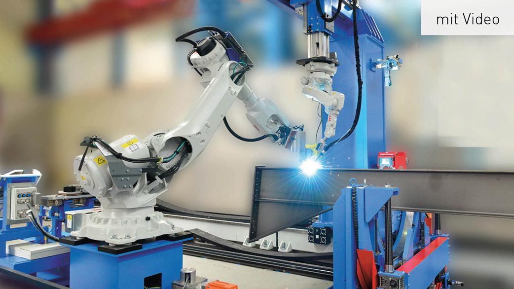 """Industrieroboter """"Steel Beam Assembler"""""""