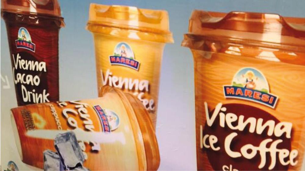 Plakat für Maresi Eiskaffee